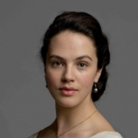 Lady Sybil Crawley played by Jessica Brown-Findlay