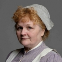 Mrs Patmore played by Lesley Nicol