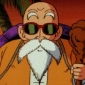 Master Roshi played by Michael Donovan