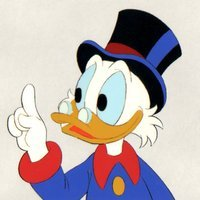 Scrooge McDuck played by Alan Young