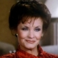 Cassandra 'Caress' Morrell played by Kate O'Mara