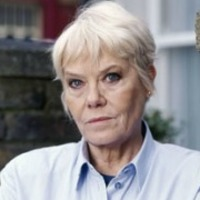 Pauline Fowler played by Wendy Richard