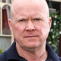 Phil Mitchell played by Steve McFadden