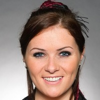 Amy Wyatt played by Chelsea Halfpenny