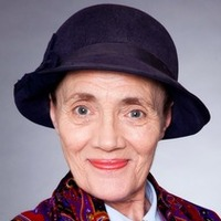 Edna Birch played by Shirley Stelfox
