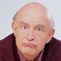 Frank Barone played by Peter Boyle