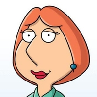 Lois Griffin played by Alex Borstein