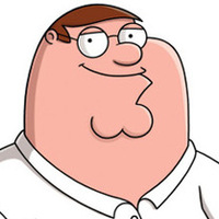 Peter Griffin played by Seth MacFarlane