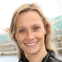 Presenter (2) played by Vicki Butler-Henderson