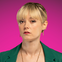 Eve played by Lydia Wilson Image
