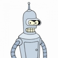 Bender played by John Di Maggio