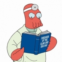 Dr. Zoidberg played by Billy West