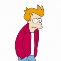 Philip J. Fry played by Billy West