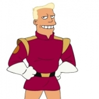 Zapp Brannigan played by Billy West
