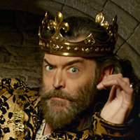 King Richard played by Timothy Omundson