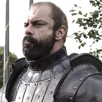Gregor Clegane played by Conan Stevens