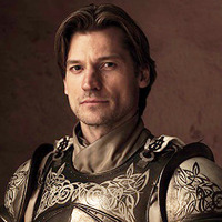 Jaime Lannister played by Nikolaj Coster-Waldau