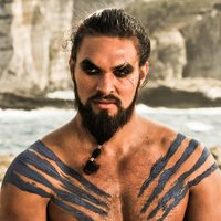 Khal Drogoplayed by Jason Momoa