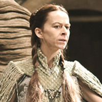 Lysa Arryn played by Kate Dickie