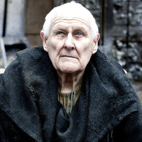 Maester Aemonplayed by Peter Vaughan