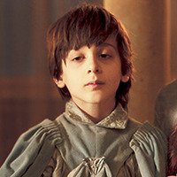 Robin Arryn played by Lino Facioli