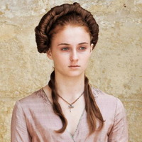 Sansa Stark played by Sophie Turner