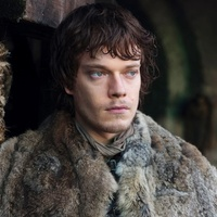 Theon Greyjoy played by Alfie Allen