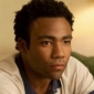 Sandy played by Donald Glover