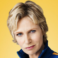 Sue Sylvester played by Jane Lynch