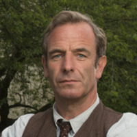 Geordie Keating played by Robson Green