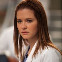 Dr. April Kepner played by Sarah Drew
