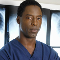 Dr. Preston Burke played by Isaiah Washington