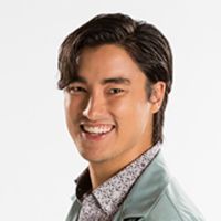 Simon Van Reyk played by Remy Hii