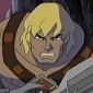 He-Man played by Cam Clarke