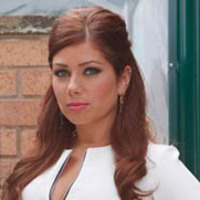 Maxine Minniver played by Nikki Sanderson