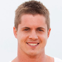 Chris Harrington played by Johnny Ruffo