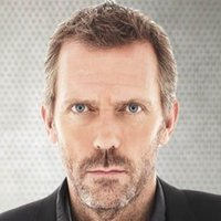 Dr. Gregory House played by Hugh Laurie