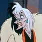 Cruella De Vil played by Susan Blakeslee