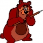 Humphrey the Bear played by Jim Cummings