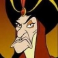 Jafar played by Jonathan Freeman