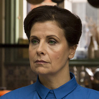 Vera played by Rebecca Front