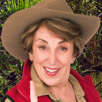 Edwina Currie played by Edwina Currie