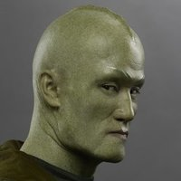Triton played by Mike Moh