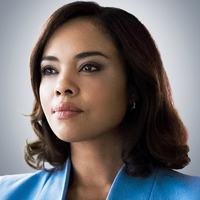 Lt. Jasmine Gooden played by Sharon Leal