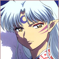 Sesshomaru played by David Kaye