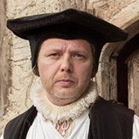 Reverend Michaelmas Winter played by Shaun Dooley