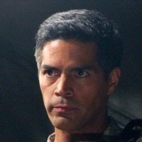Major Edward Beck played by Esai Morales
