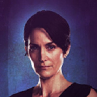 Jeryn Hogarth played by Carrie-Anne Moss
