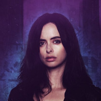 Jessica Jones played by Krysten Ritter