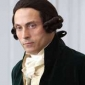 Alexander Hamilton played by Rufus Sewell